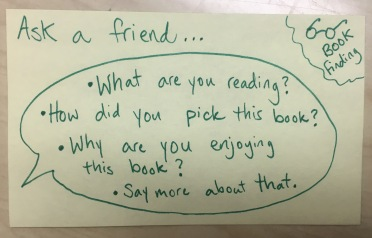 Ask a Friend... Book Choice