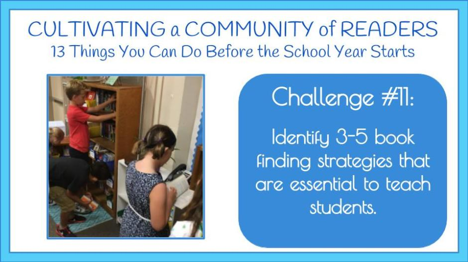 challenge 11 identify 3 5 book finding strategies that are